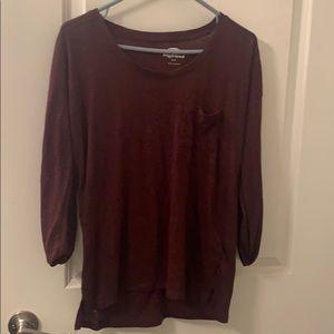 Women's long sleeve boyfriend sweater